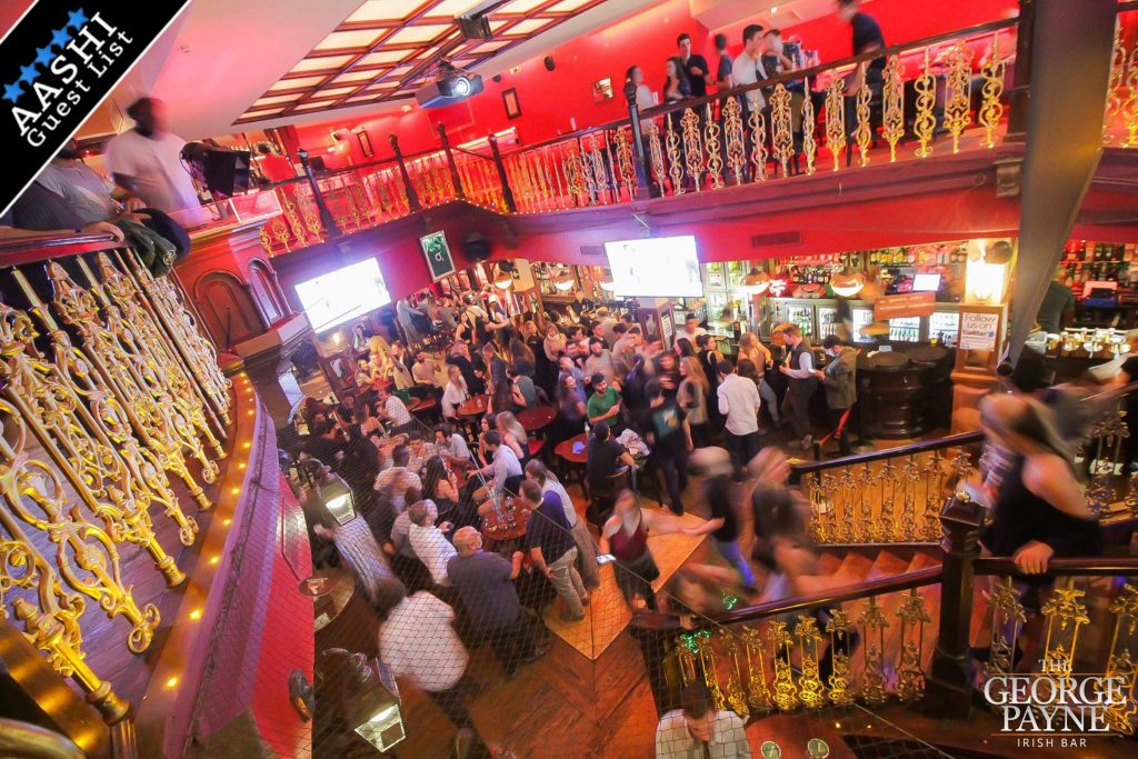 The George Payne Irish bar in Barcelona - perfect for students and international travellers