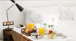 Free breakfast in Bed Barcelona