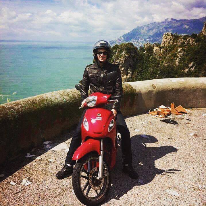 Exploring Italy's Amalfi Coast on a Scooter