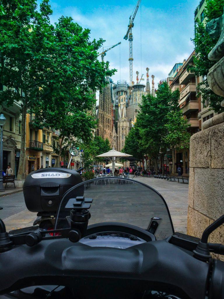 Antoni Gaudi's Famous Sagrada Familia Church in Barcelona