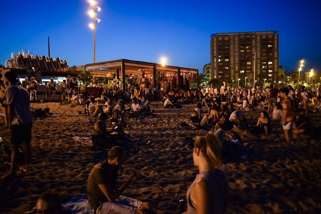 San Juan Festival, Barcelona ~ Explosions in the Sky (Photo Essay) by Ben Holbrook