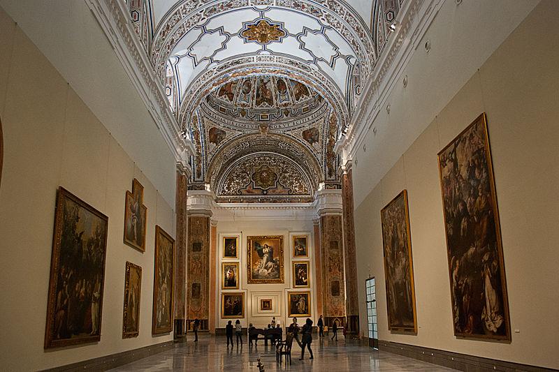 Museo_bellas_artes_Seville, Spain