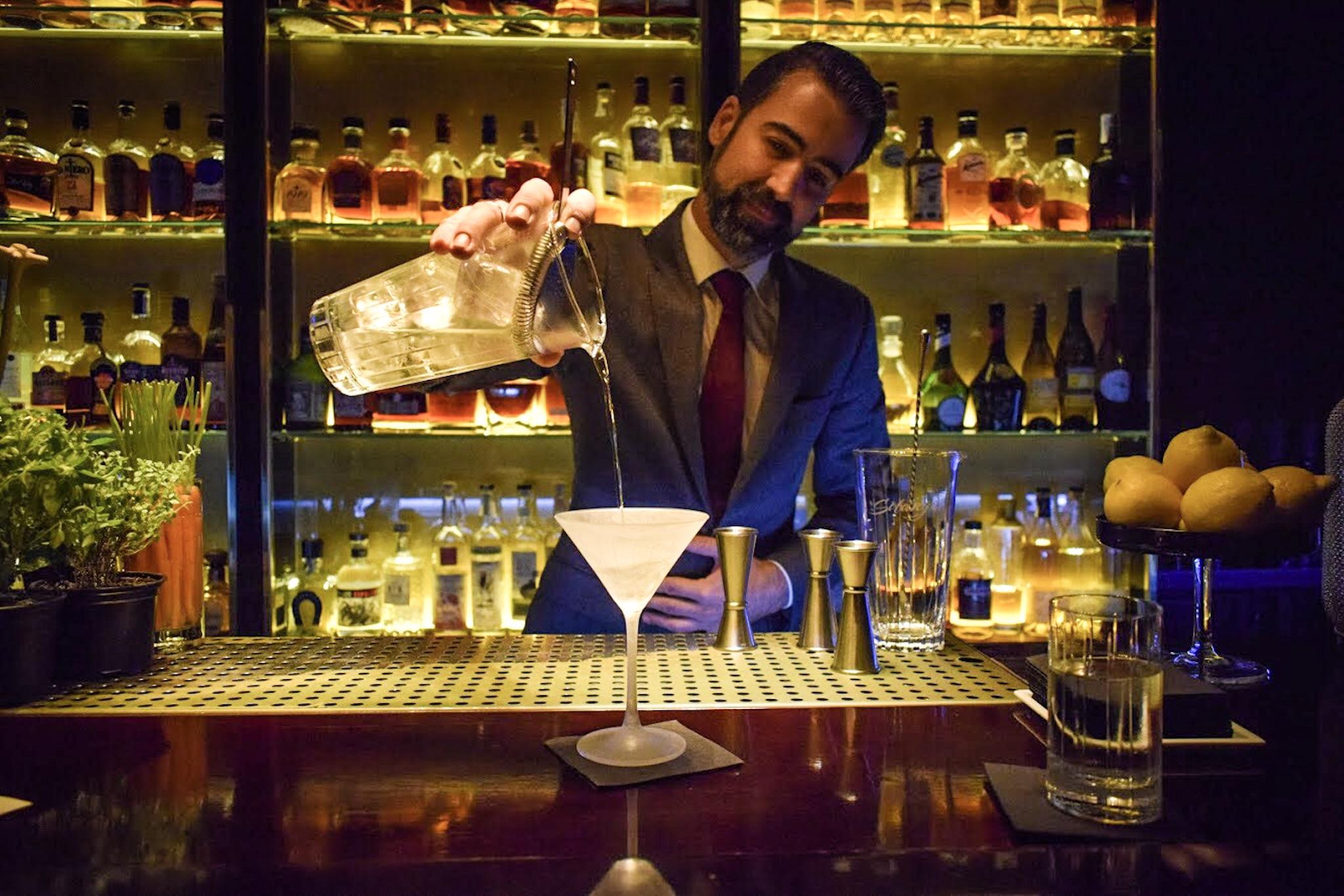 Solange Cocktail Bar, Eixample, Barcelona - Ben holbrook
