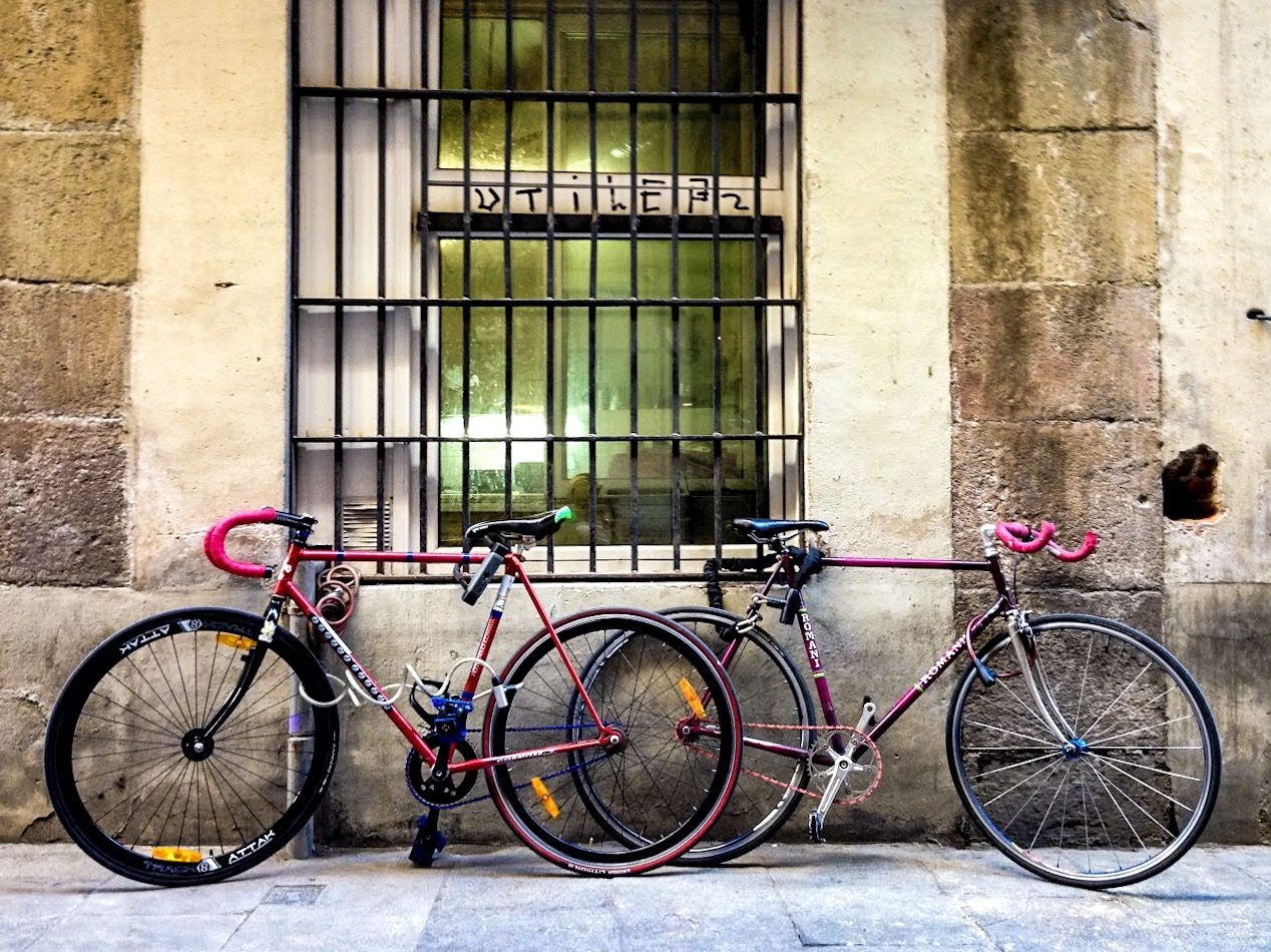 Vintage bicycles in Born, Barcelona