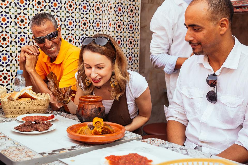 Food Tours in Marakkesh, Morocco.