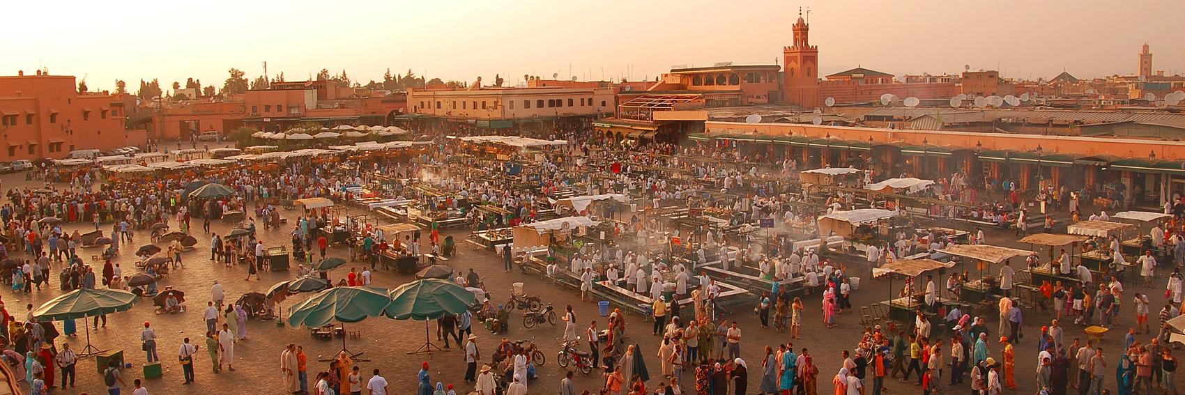 Marrakech Jamaa El Fna Famous Market