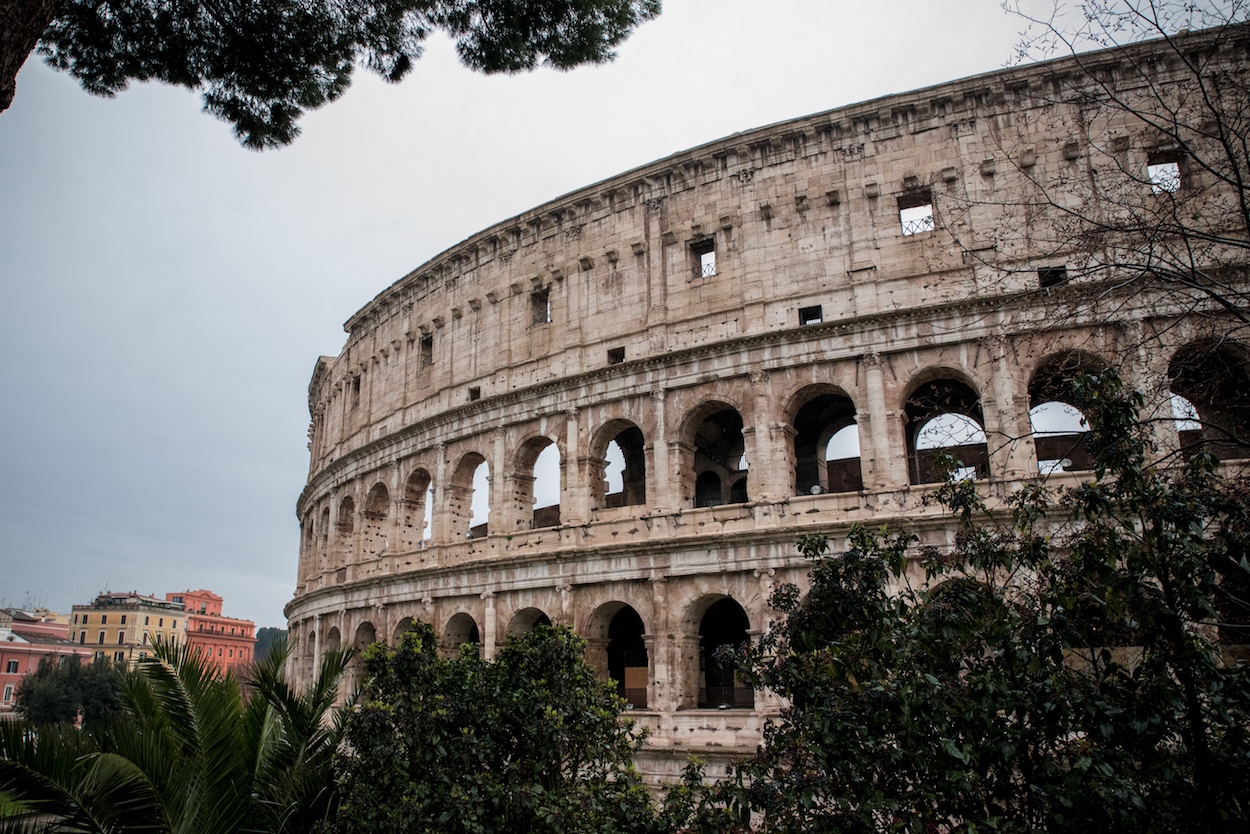 Colosseum Rome by Ben Holbrook