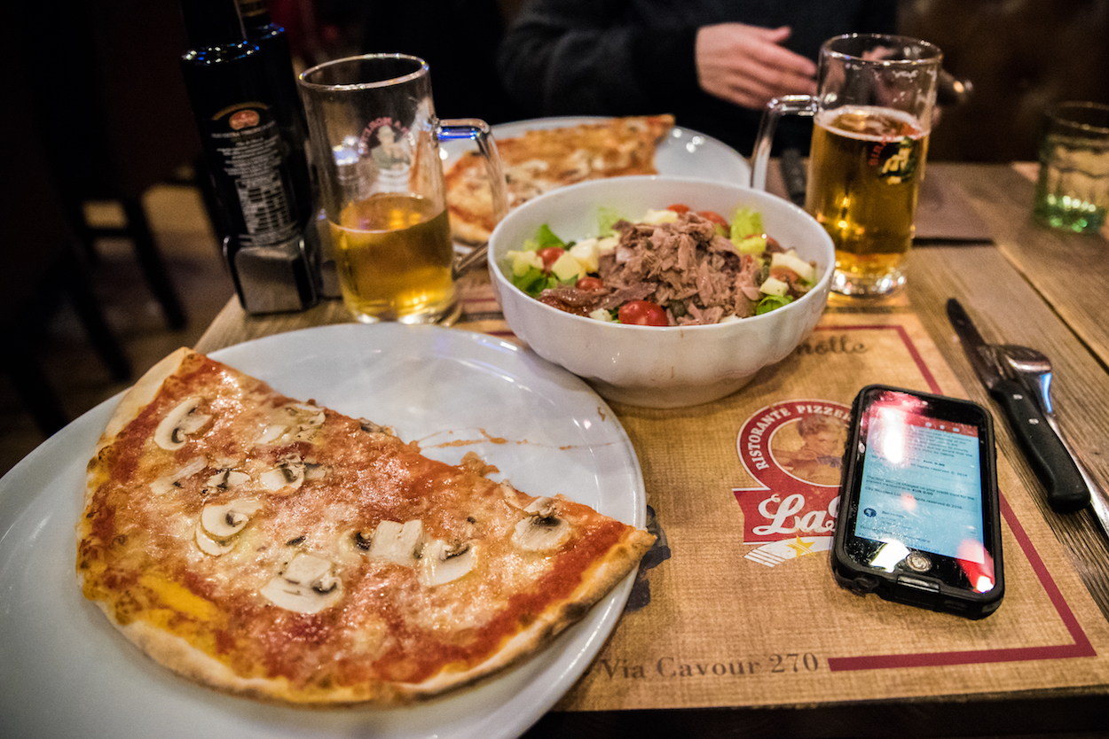 Where to eat the best pizza in Rome - by Ben Holbrook
