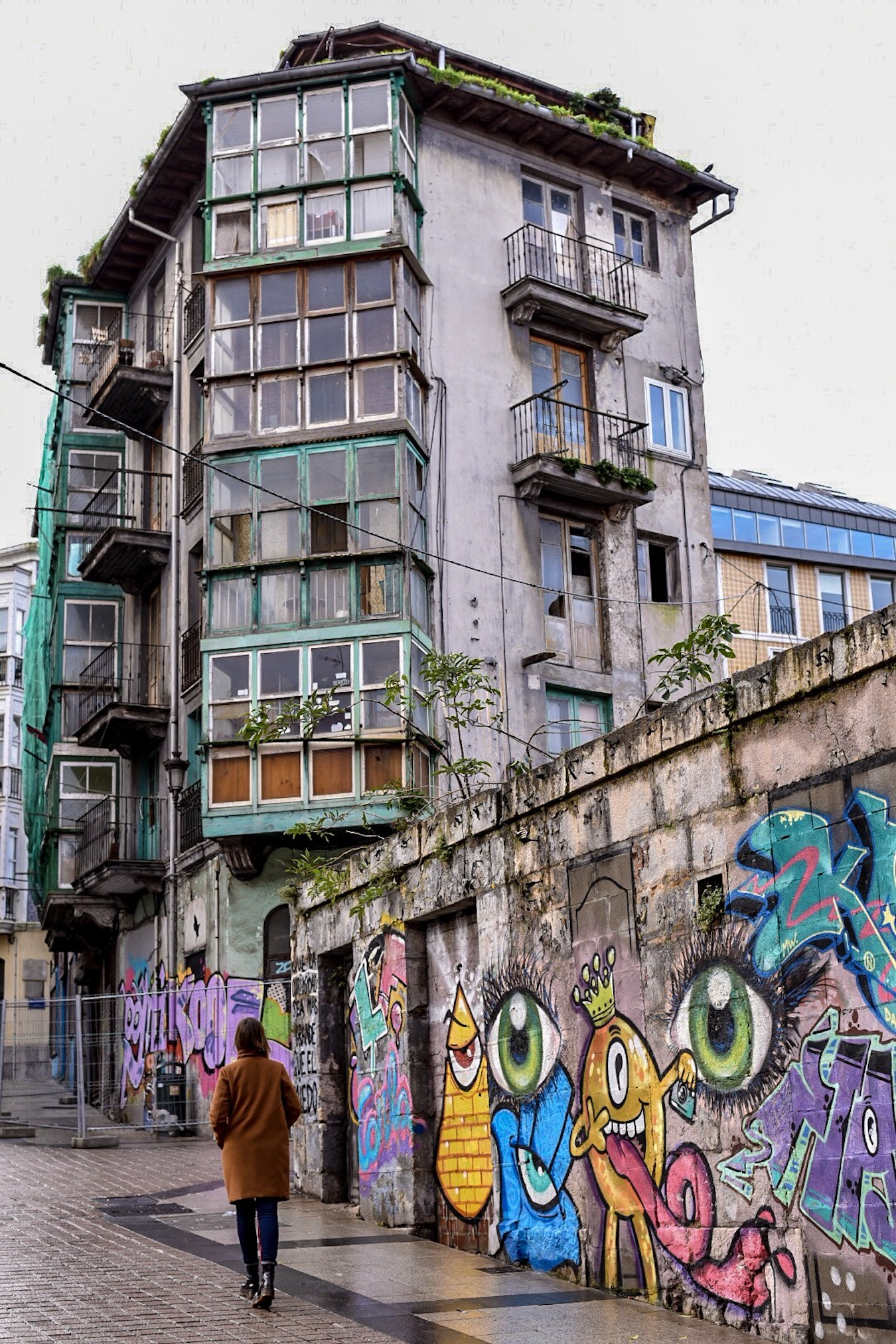 Street art in Santander, northern Spain