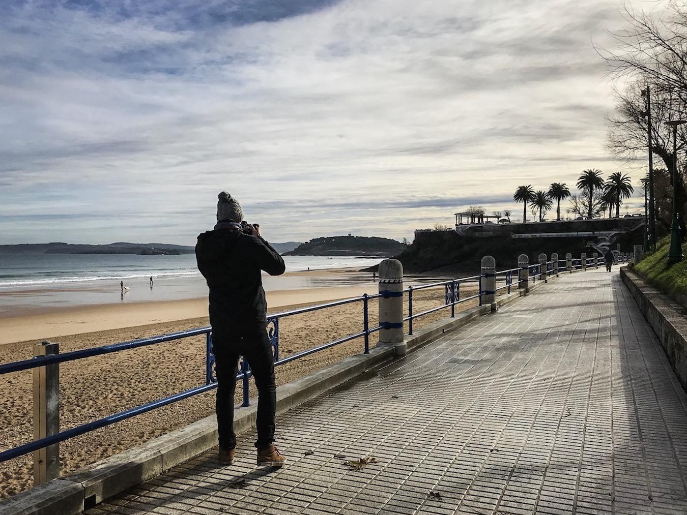 Santander Playa Sardinero Beach
