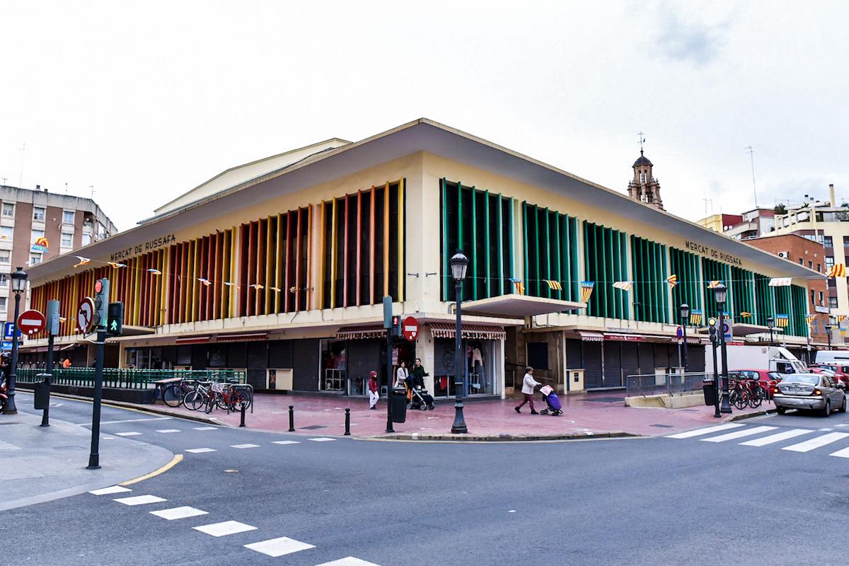 Ruzafa market, Valencia - by Ben Holbrook