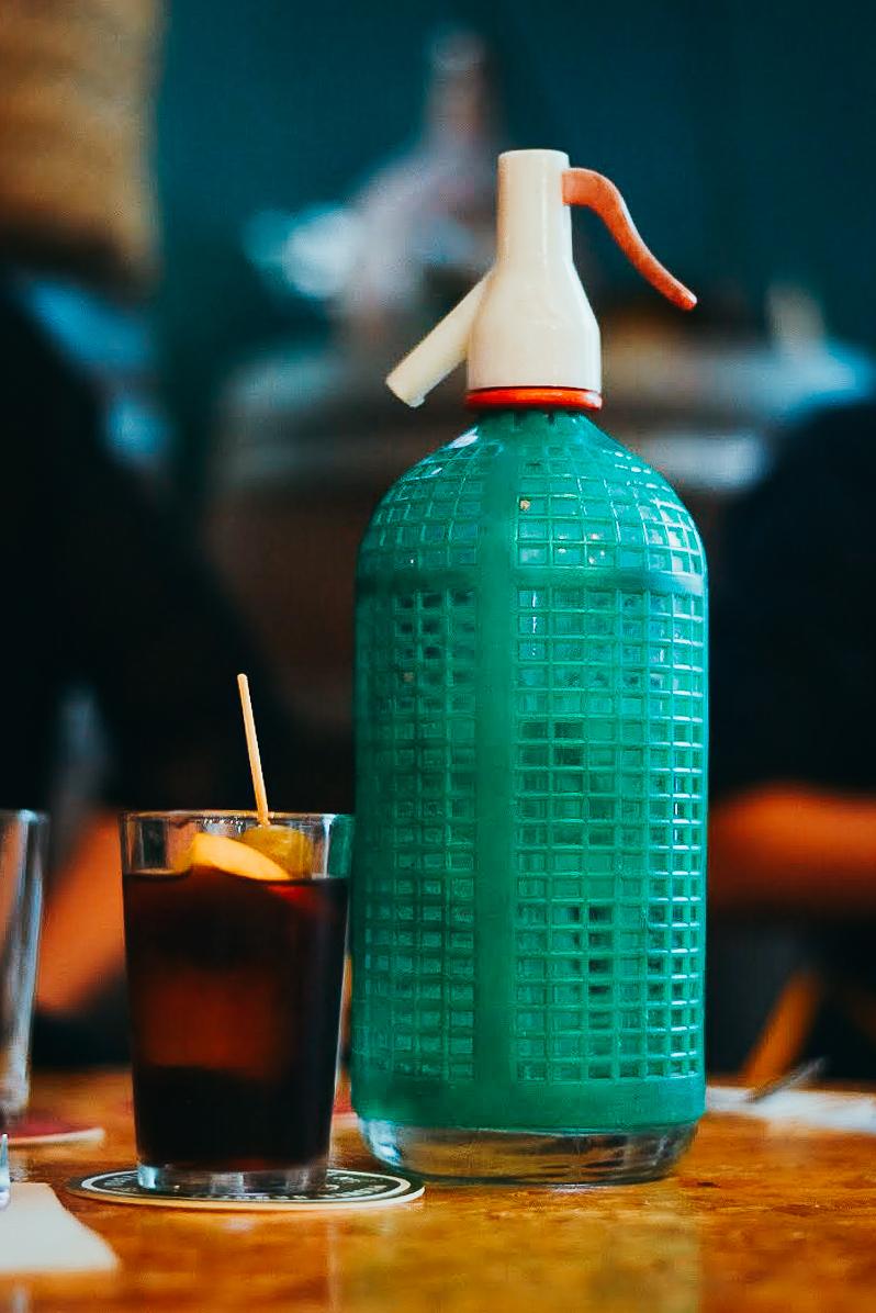 Vintage Spanish Sifon bottle in Barcelona - by Ben Holbrook