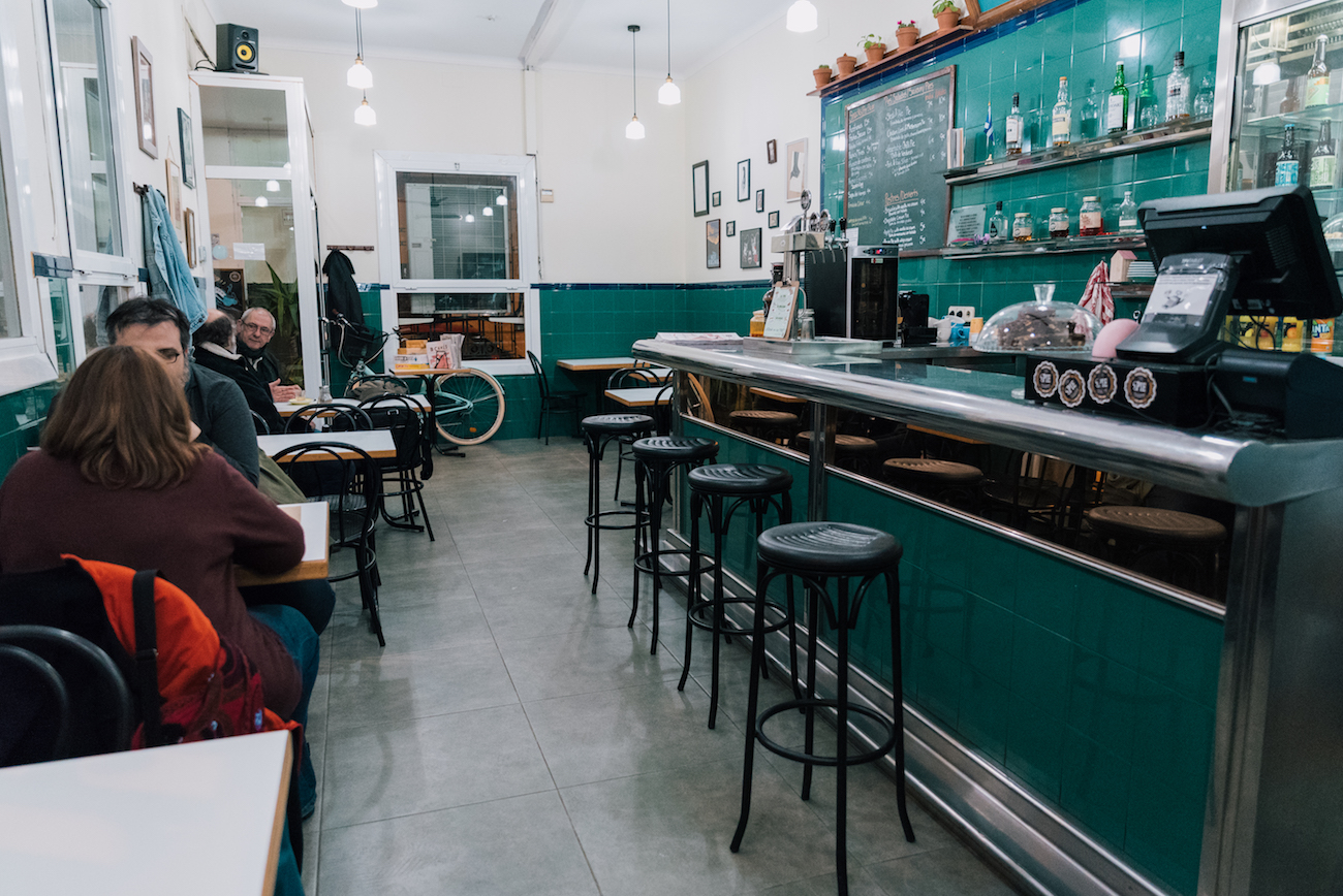 Bar de toda la vida ~ The Pie Shoppe, Gracia, Barcelona
