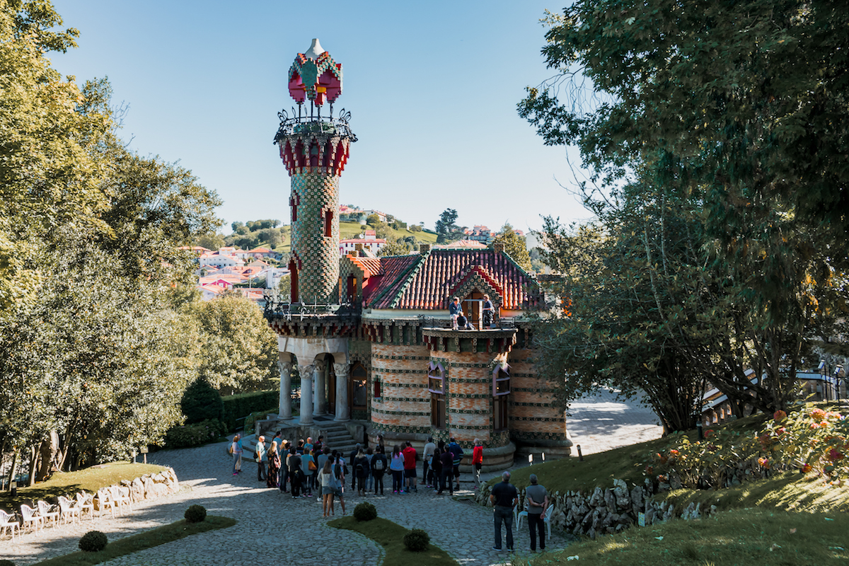 Antoni Gaudi's El Capricho house in Cantabria – inspired by sunflowers.
