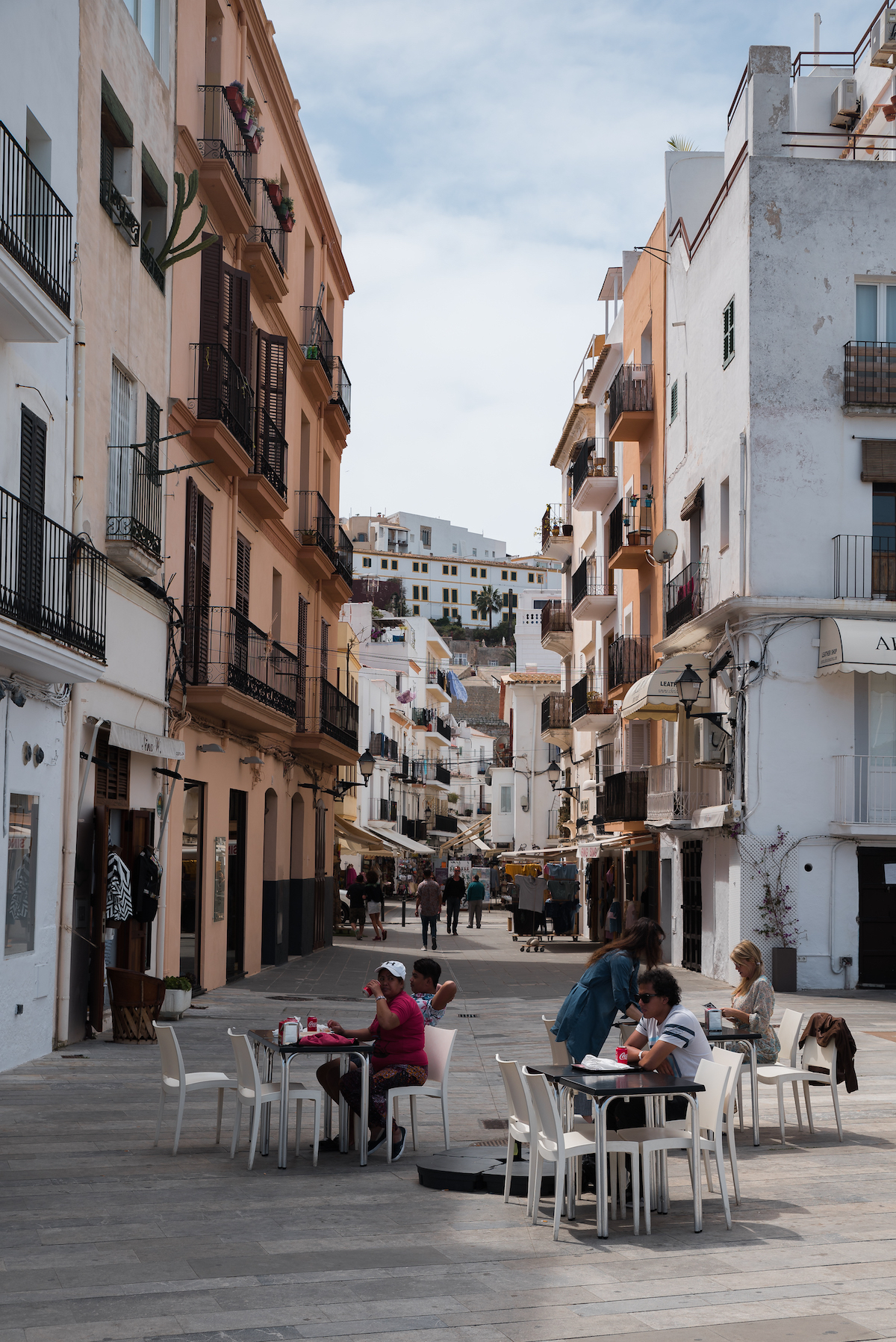 Ibiza Town - by Ben Holbrook