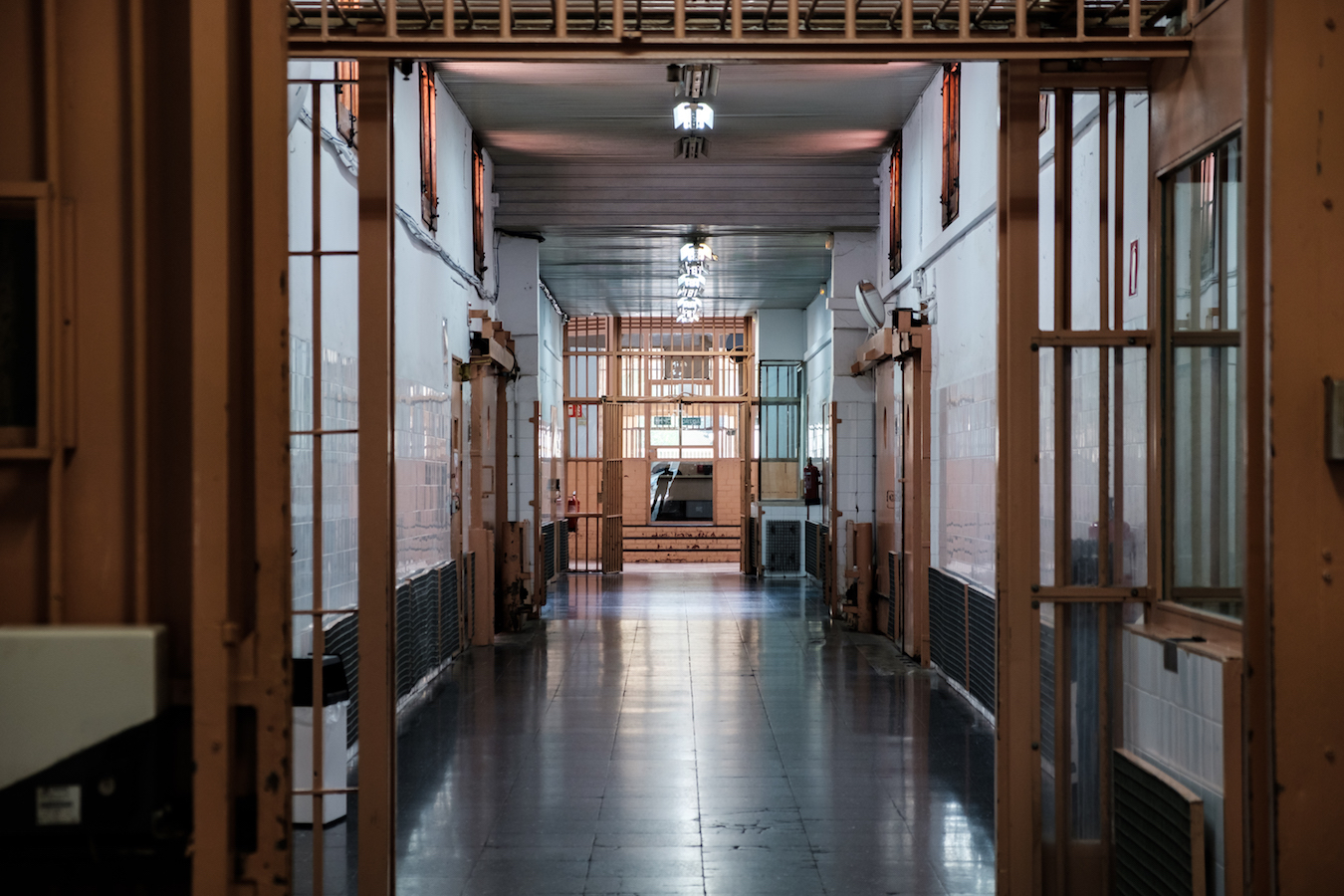 La Modelo Prison in Barcelona - Copyright Ben Holbrook of www.driftwoodjournals.com 2018