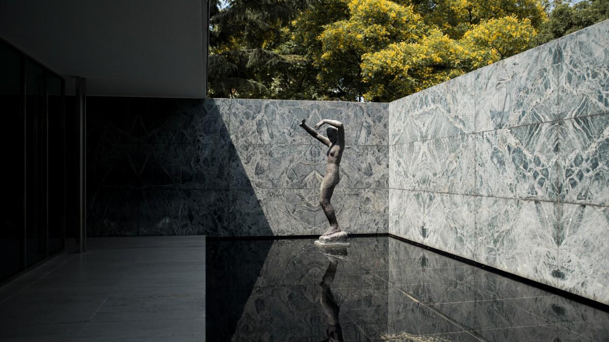Ludwig Mies van der Rohe's German Pavilion in Barcelona