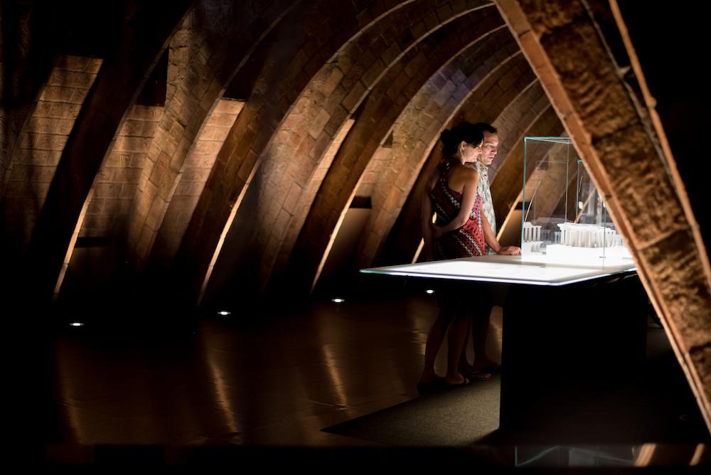 Espai de Gaudi Rooftop jazz concert and cava at Antoni Gaudi's La Pedrera Building in Barcelona