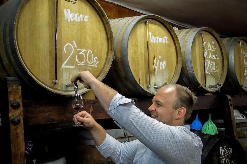 Fintan from Wine Cuentista, Barcelona