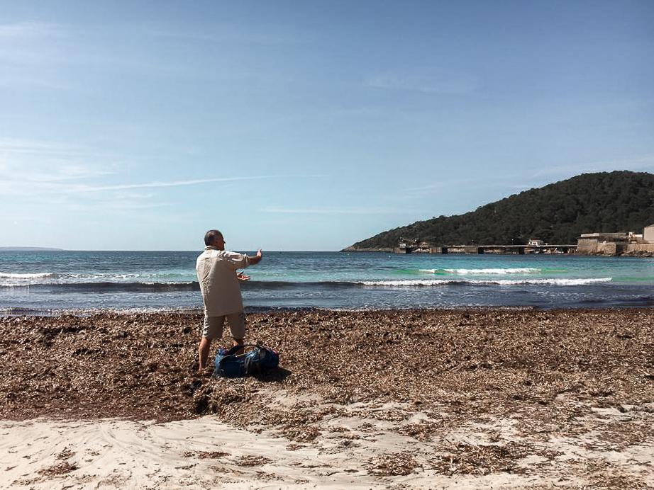 Playa San Salinas, Ibiza - by Ben Holbrook