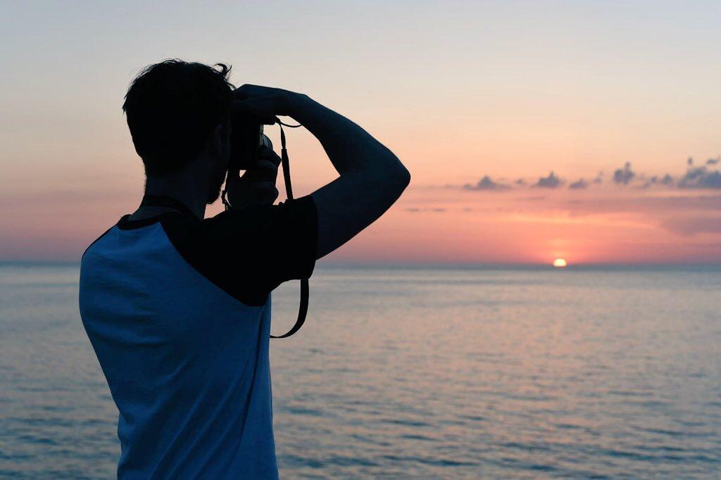 Ben Holbrook travel photographer in Chipiona