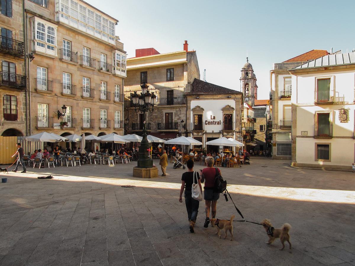 Vigo Old Town - by Ben Holbrook