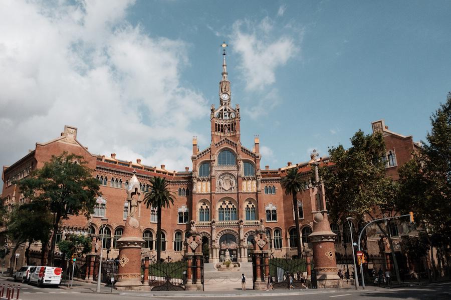 Hospital San Pau in Barcelona - by Ben Holbrook from DriftwoodJournals.com-1