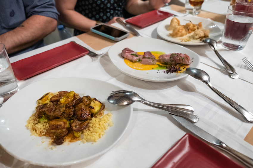 Tasting traditional Andalusian dishes on the Devour Seville Food Tour