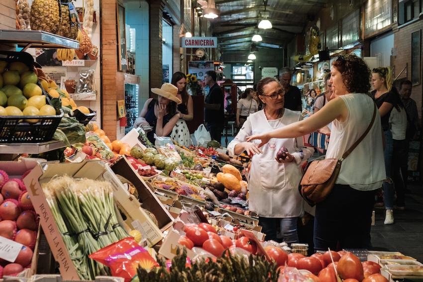 Mercado de Triana, Seville.