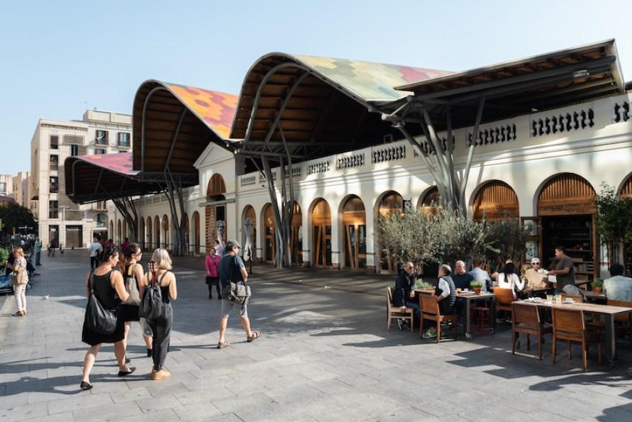 Santa Caterina Market / Mercado de Santa Caterina - Born Barrio Barcelona