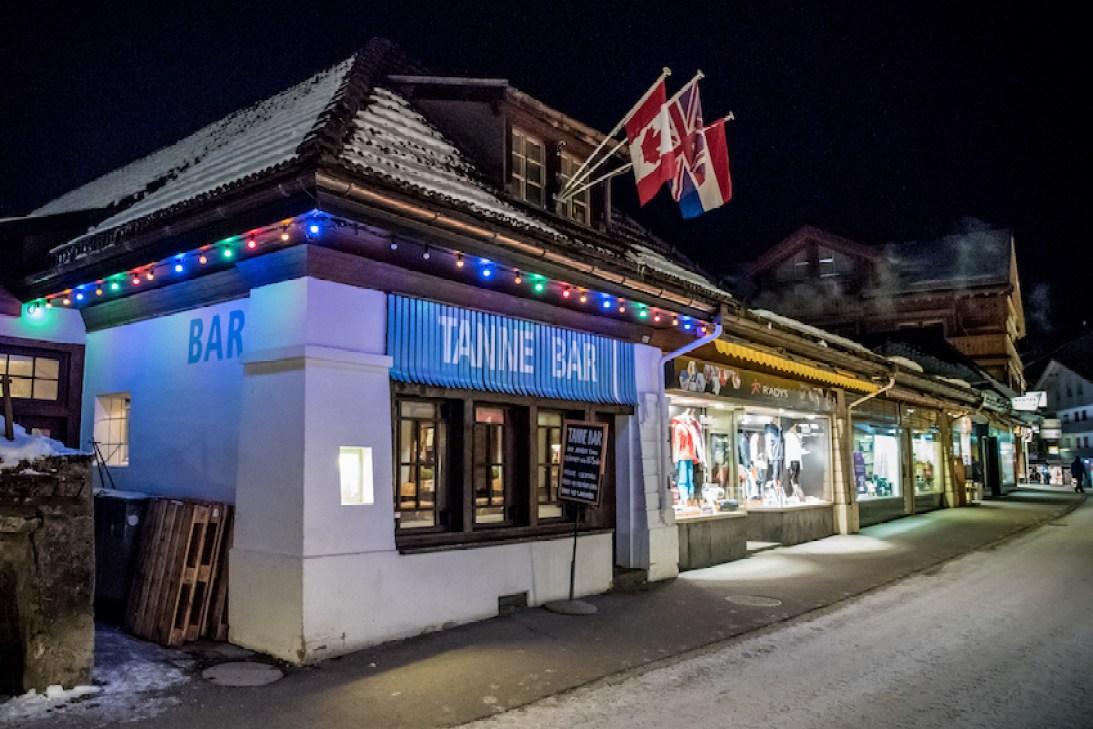 Tanne Bar, Wengen, Switzerland –Apres Ski Time. By Ben Holbrook from DriftwoodJournals.com