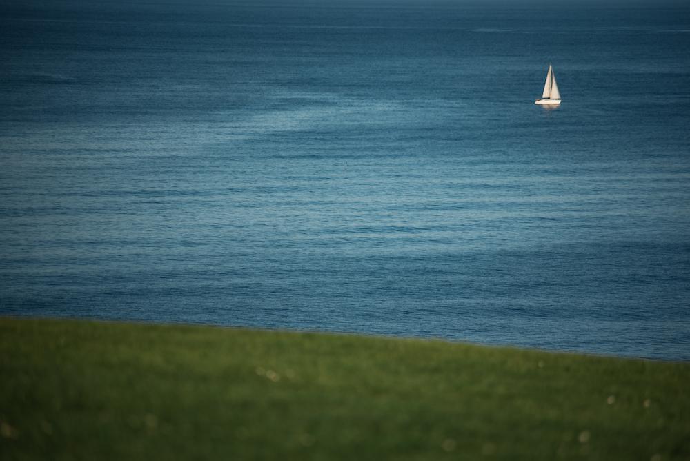 Atlantic views from Gijon's glorious Santa Catalina Headland (park).