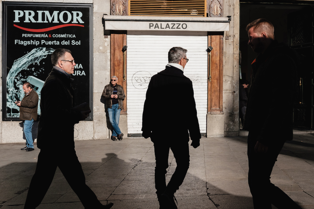 Puerta del Sol, Madrid Street Photography Essay - by Ben Holbrook DriftwoodJournals.com-8834