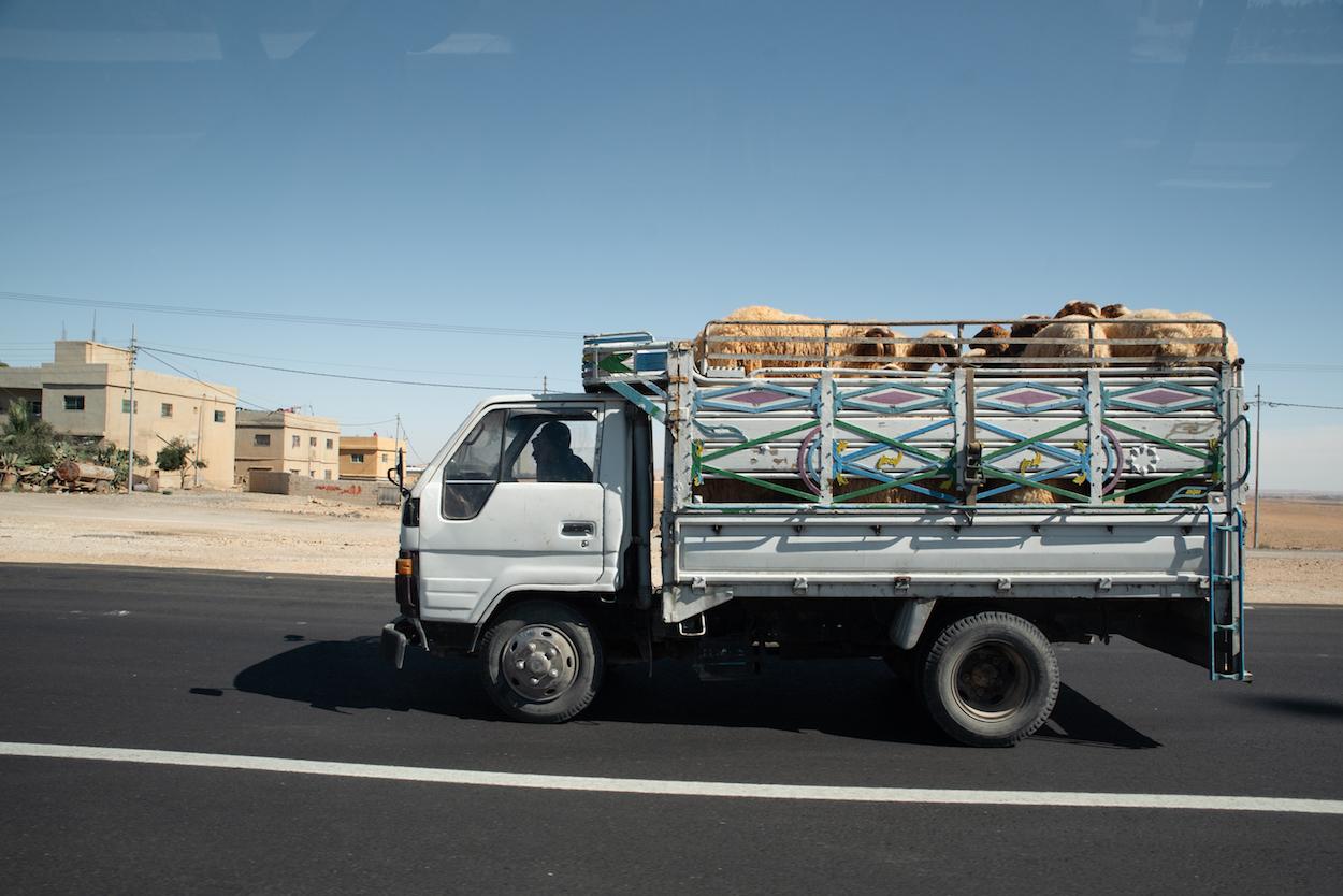 Jordan Roads: Travel Photography by Ben Holbrook from DriftwoodJournals.com