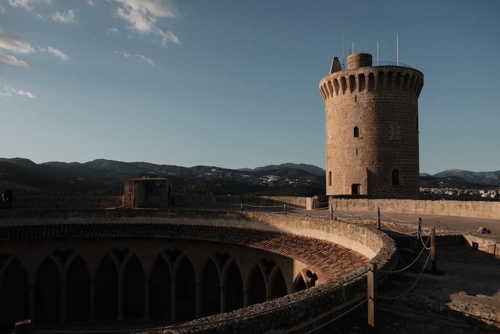 Castell de Bellver - Mallorca Travel Photography by Ben Holbrook from DriftwoodJournals.com