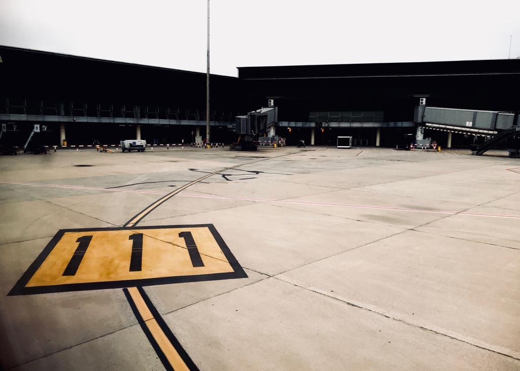 Barcelona Airport - by Ben Holbrook from DriftwoodJournals.com