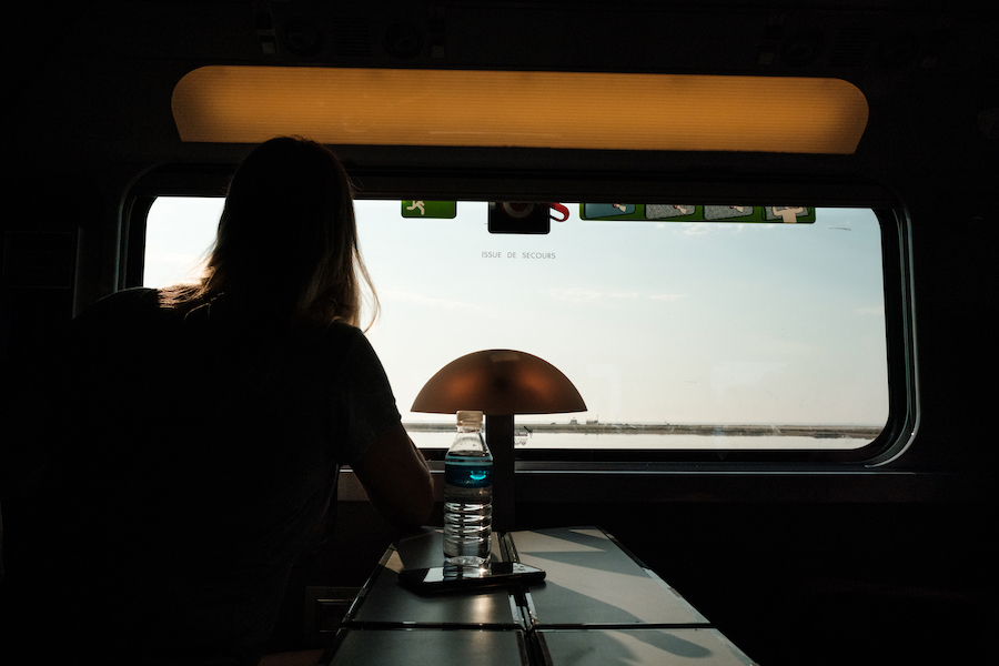 RENFE SNCF train from Barcelona to Sete, Southern France ~ By Ben Holbrook from DriftwoodJournals.com15