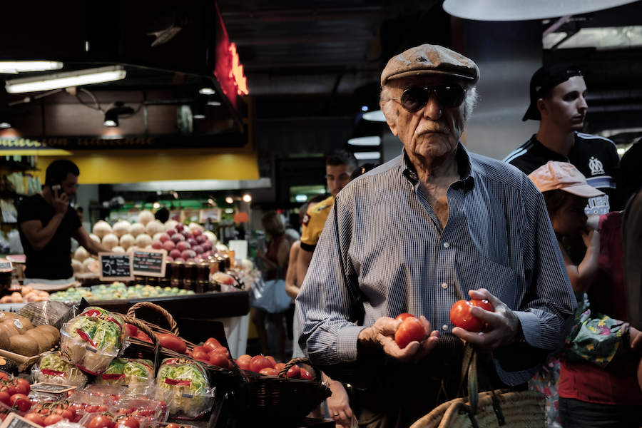 Locals at Les Halles De Sète Market in Sete, Southern France ~ By Ben Holbrook from DriftwoodJournals.com7