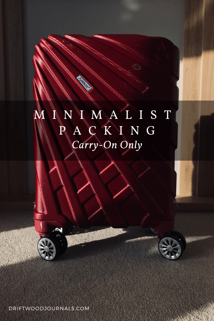 Minimalist Travel Packing Guide
