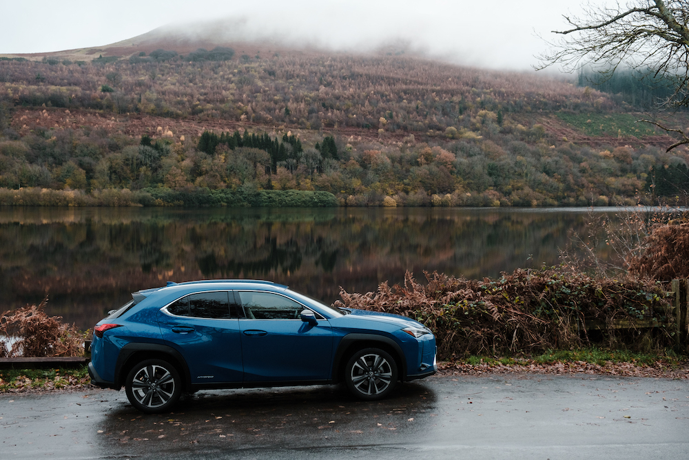 New Hybrid Lexus Photoshoot in Brecon Beacons, Wales, UK - Travel Photography by Ben Holbrook from DriftwoodJournals.com-6675