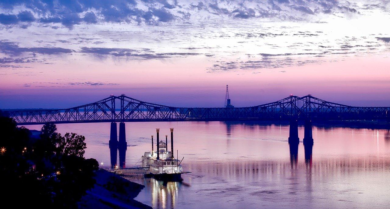 Mississippi River, USA