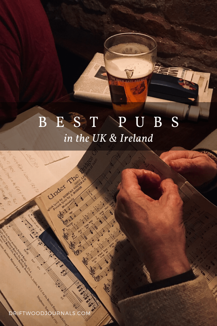 Best Pubs in the UK and Ireland