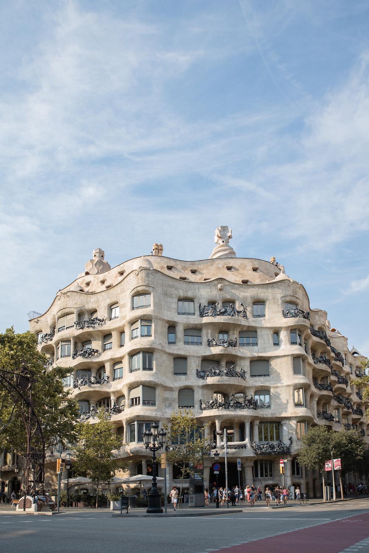 Antoni Gaudi's Casa Mila (aka La Pedrera) Modernista Architecture, Eixample, Barcelona - by Ben Holbrook from DrifftwoodJournals.com5