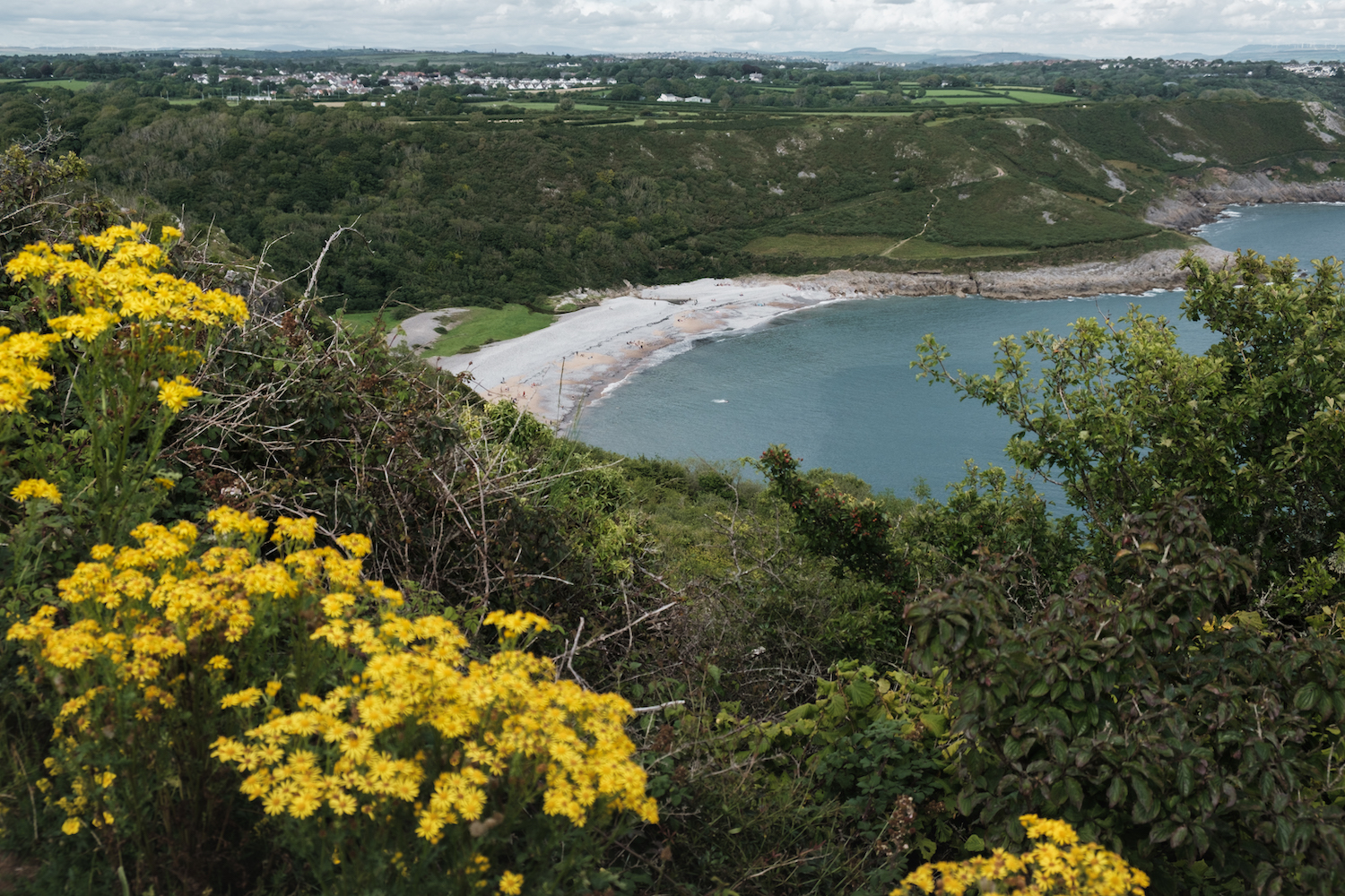 Pwlldu Bay, South Gower Walking Trail - Wales Coast Path - by Ben Holbrook from DriftwoodJournals.com