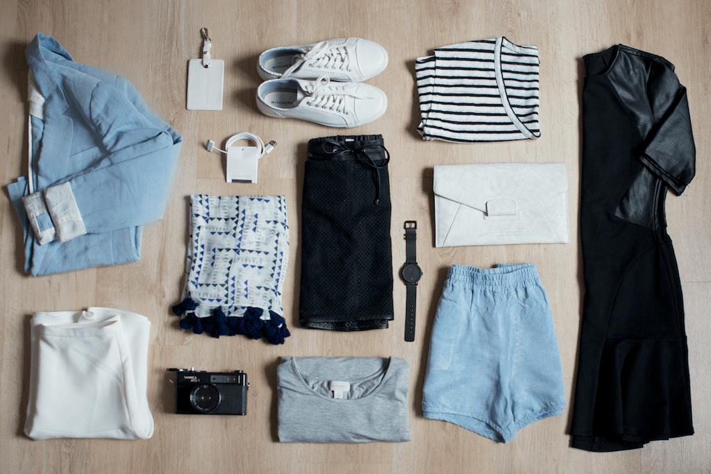 Travel Capsule Wardrobe