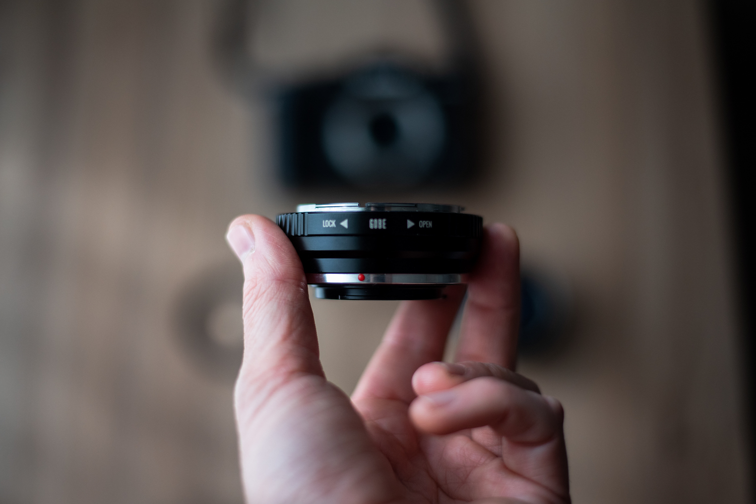 Gobe lens adaptor - Vintage Canon FD 50mm with Fujifilm XT3 - by Ben Holbrook from DriftwoodJournals.com6