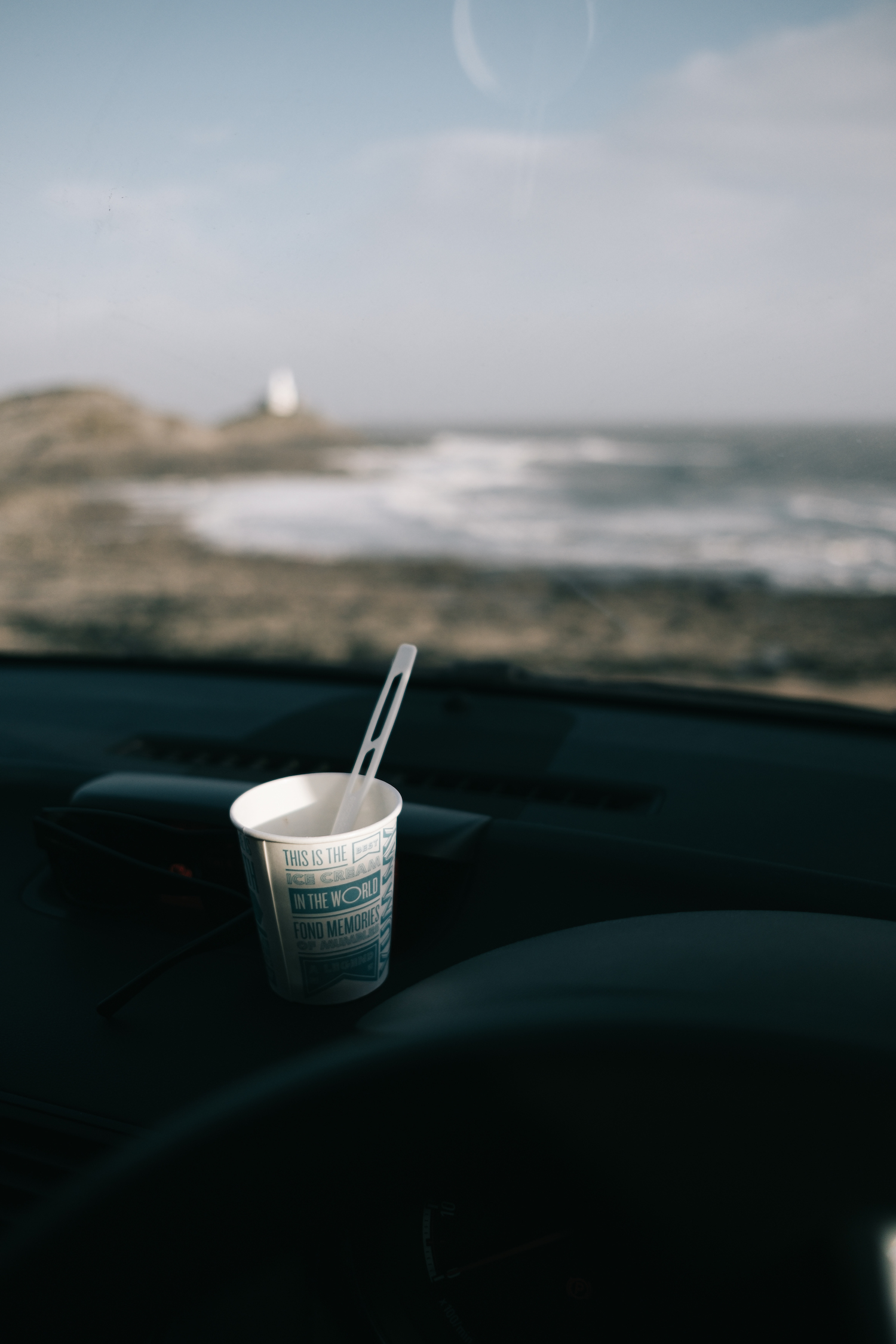 Bracelet Bay with Joe's Ice Cream : Gower Peninsula, Swansea - by Ben Holbrook from DriftwoodJournals.com3