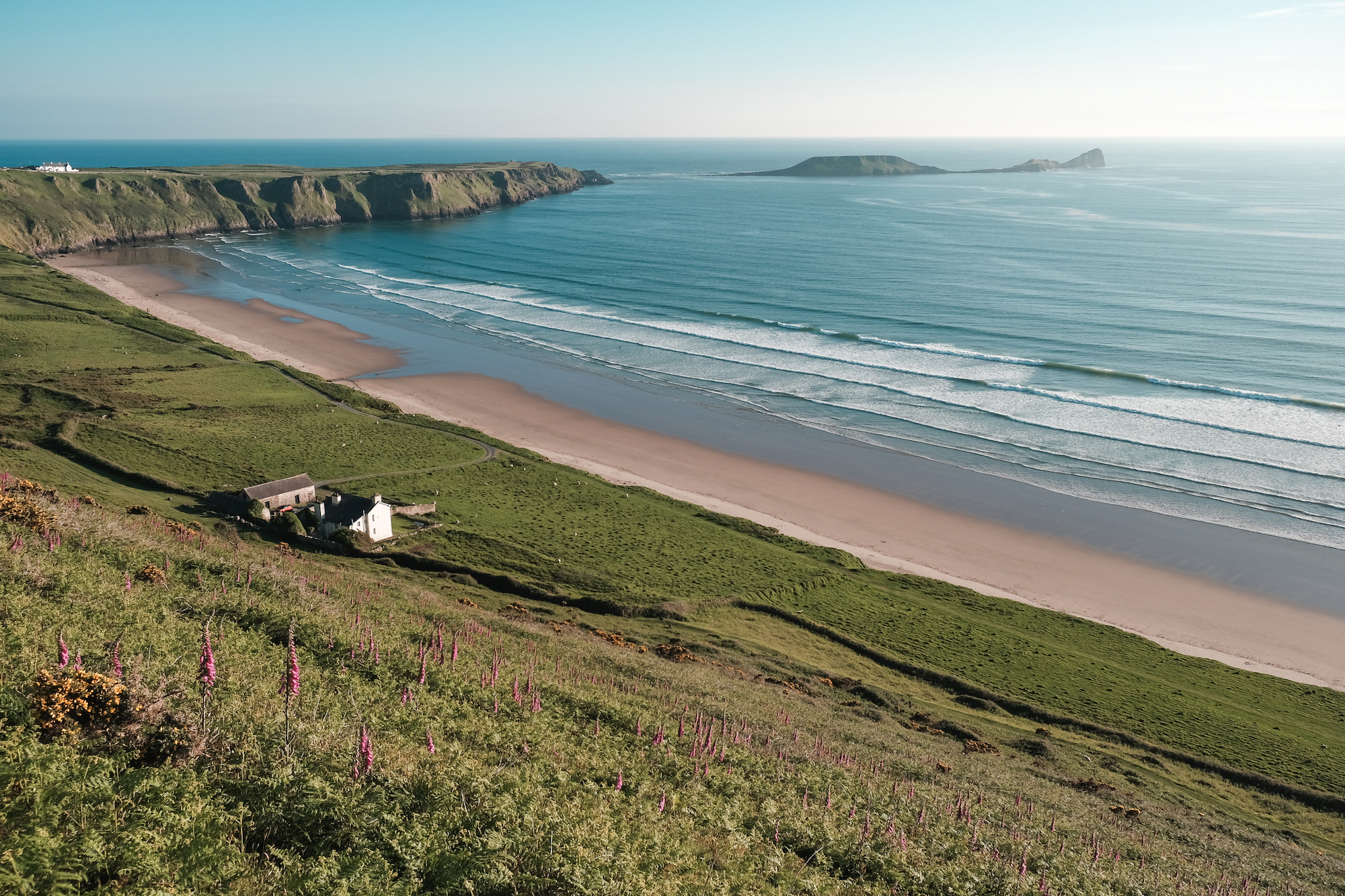 Rhossili Bay, Gower Peninsula, South Wales, Swansea - by Ben Holbrook-14