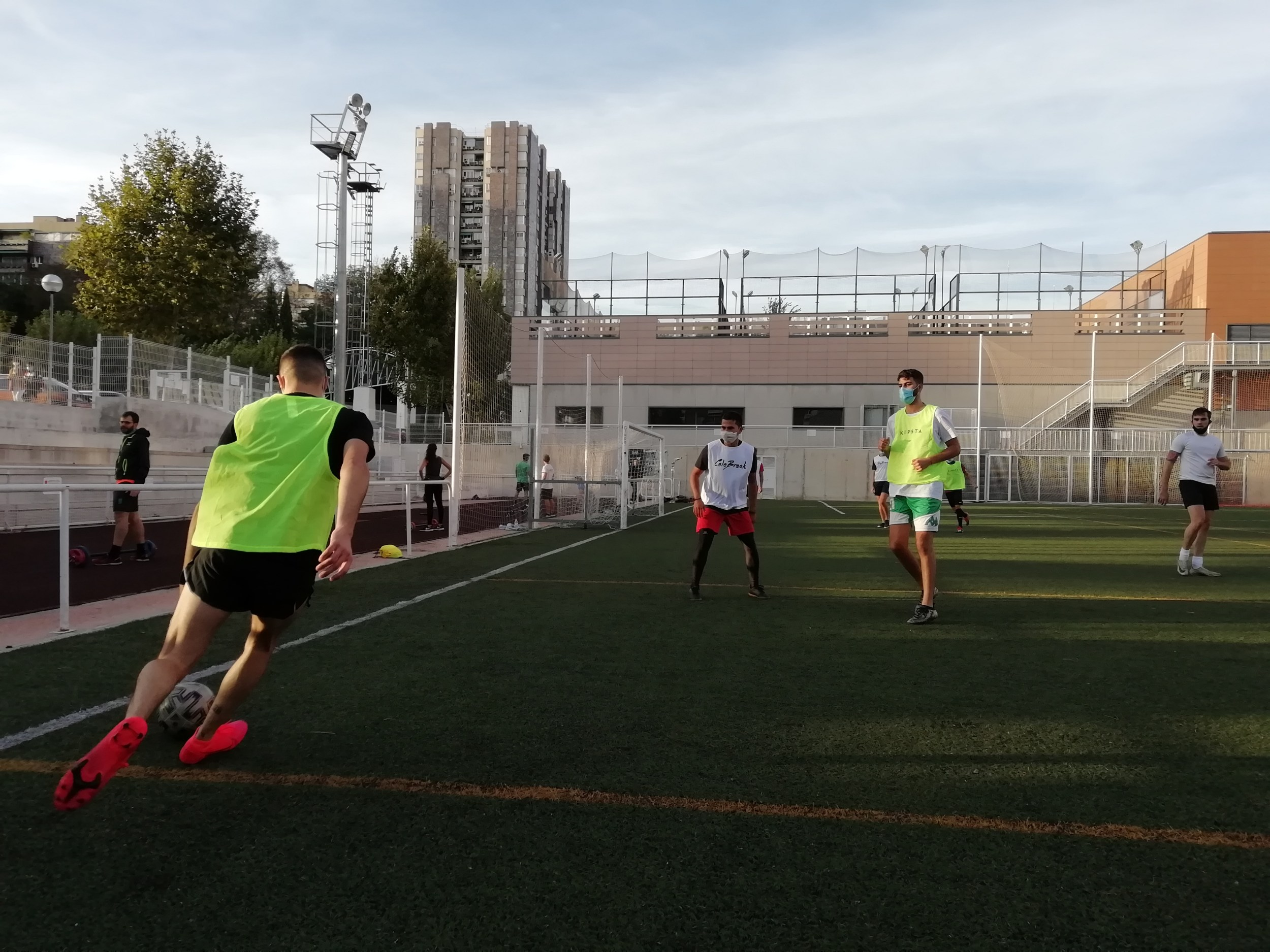 PLay 5 and 7 aside football in Madrid - CeleBreak
