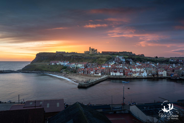 Sunrise over Whitby - We Dream of Travel